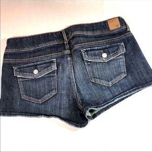 American Eagle Blue Denim Shorts 12